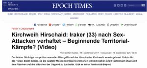 Fake News-Seite Epoch Times